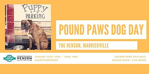 Pound Paws Dog Day at The Henson