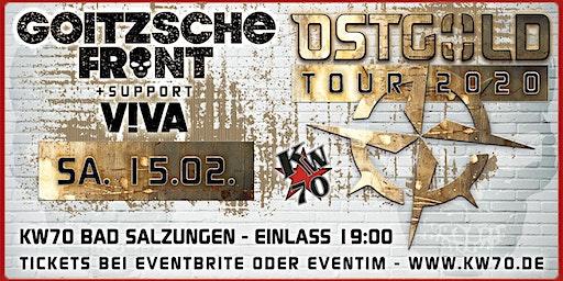GOITZSCHE FRONT - OSTGOLD Tour 2020 - Bad Salzungen