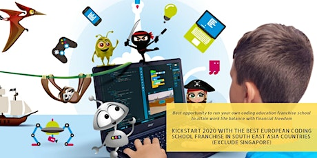 RUNNING A CODING FRANCHISEE BIZ IN SOUTHEAST ASIA - Free Admission tickets