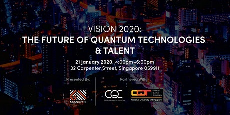 Vision 2020: The Future of Quantum Technologies and Talent tickets