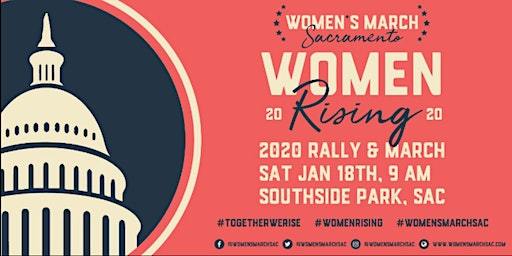 Women's March Sacramento 2020