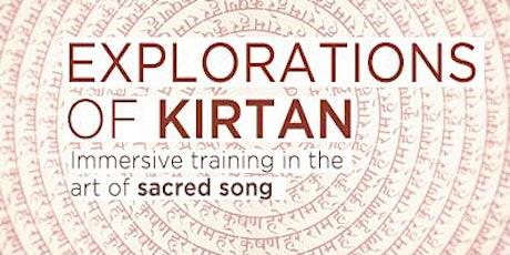 Explorations of Kirtan / 4 week format tickets