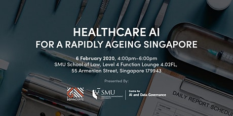 Healthcare AI for a Rapidly Ageing Singapore tickets