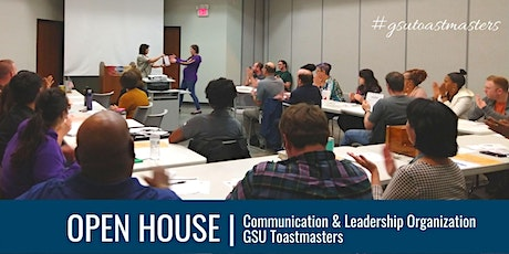 Communication & Leadership Organization Open House tickets