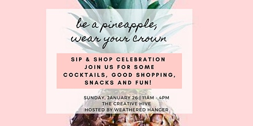 Sip and Shop Celebration Pop-Up