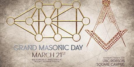 Grand Masonic Day 2020 tickets