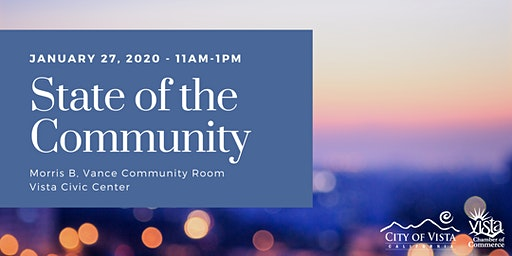 Vista State of the Community