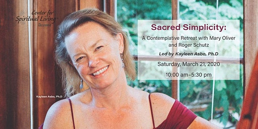 Sacred Simplicity: Contemplative Retreat with Mary Oliver and Roger Schutz