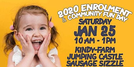 2020 Enrolment & Community Fun Day tickets
