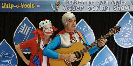 The Bubbles & Supa Squirt Water Saving Show - New Lambton Library