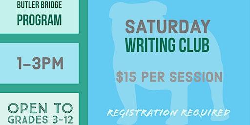 Saturday, January 18 - Writing Club
