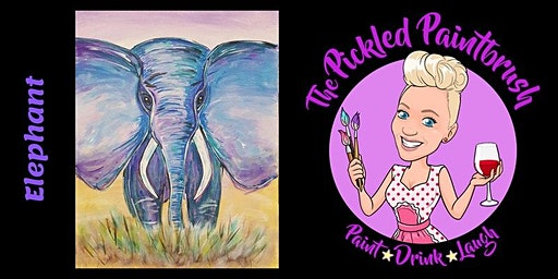 Painting Class - Elephant - ALL AGES - February 29, 2020
