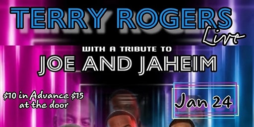 Jazzy 159 Presents Terry Rodgers a Tribute to Joe