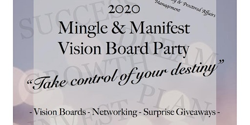 2020 Mingle & Manifest Vision Board Party