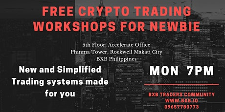 (FREE WORKSHOP)How to be a Profitable  Crypto Traders  for newbie tickets