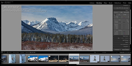 Banff Photography Club:   Lightroom and Photoshop editing Intro Tutorial tickets