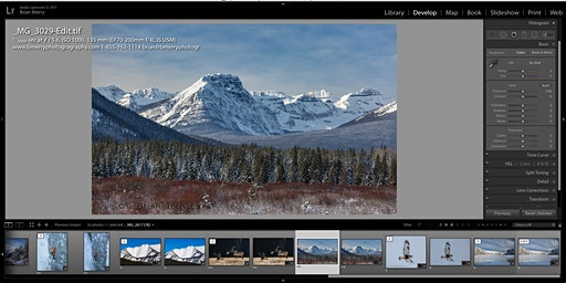 Banff Photography Club:   Lightroom and Photoshop