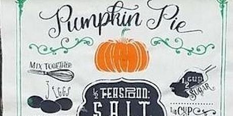 Sip 'N Chalk - Apple or Pumpkin Pie tickets