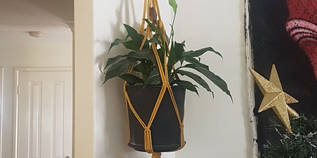 Macrame Pot plant holder tickets