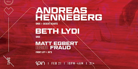 Front Left Presents: Andreas Henneberg + Beth Lydi tickets