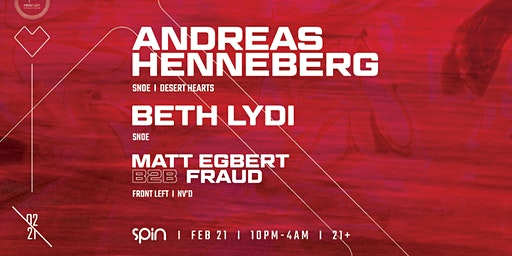 Front Left Presents: Andreas Henneberg + Beth Lydi