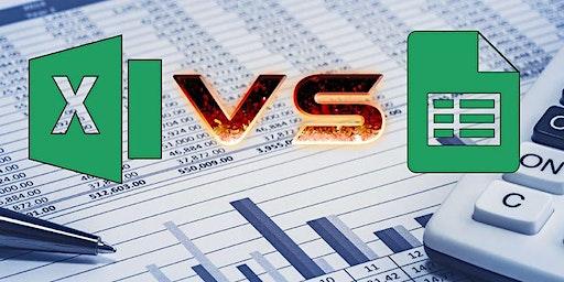 Excel vs Google sheets showdown
