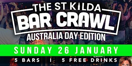 Australia Day Bar Crawl - St Kilda tickets