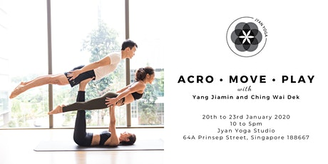 Acro •  Move •  Play tickets