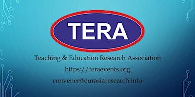 15th ICTEL 2020– International Conference on Tea