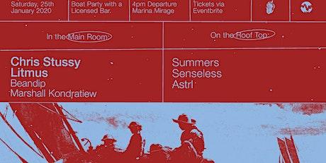 BOAT PARTY(GC) w/ Chris Stussy & Litmus tickets