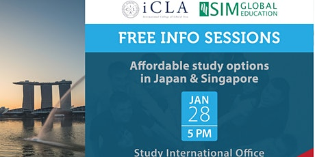 Study in Japan and Singapore! tickets