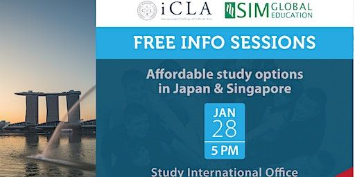 Study in Japan and Singapore!