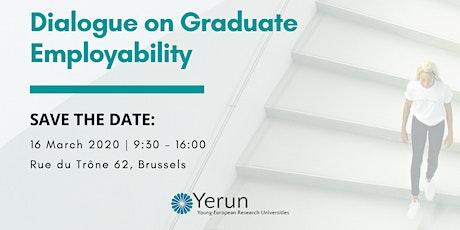 YERUN Dialogue on Graduate Employability tickets