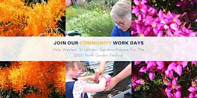 Western Wildflower Gardens Community Work Day