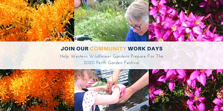 Western Wildflower Gardens Community Work Day tickets