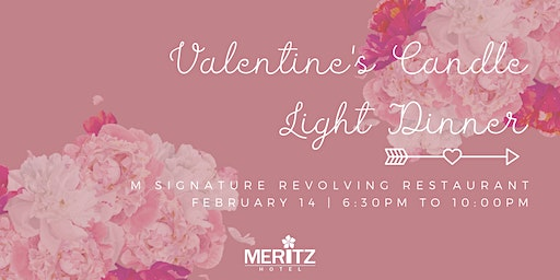 Valentines Day Candle Light Dinner