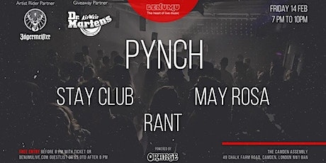 Love live music Valentine special with Pynch and special guests tickets