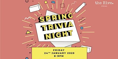 Spring Trivia Night tickets