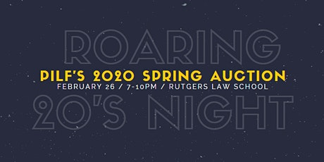 PILF's 2020 Spring Auction: The Roaring 20s tickets