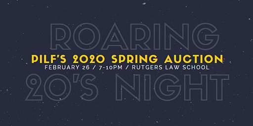 PILF's 2020 Spring Auction: The Roaring 20s