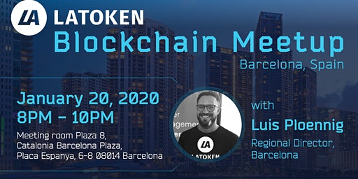 LATOKEN Blockchain Meetup, Barcelona, Spain
