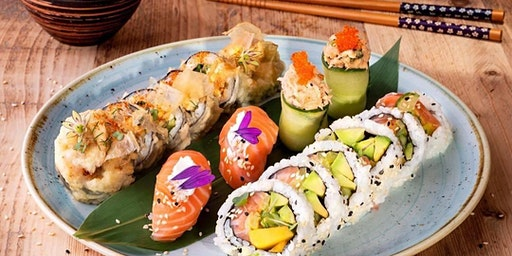 Social Sushi 3 Course Japanese Experience with Art Sushi UK at Tonic Social