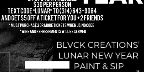 BLVCK CREATIONS' PAINT & SIP tickets