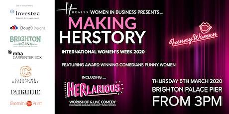 MAKING HERSTORY  - International Women's Week 2020 tickets