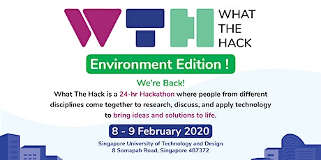 What The Hack 2020: Environment Edition tickets