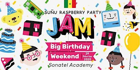 Suñu Raspberry party II billets