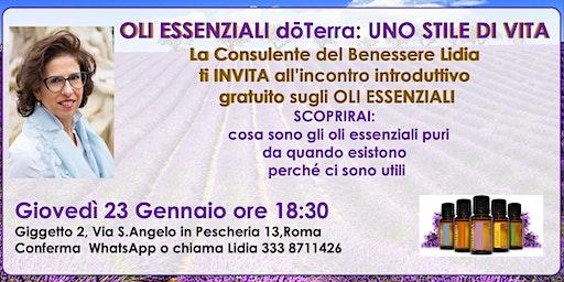 Oli Essenziali Puri Seminario Gratuito- ROMA CENTRO