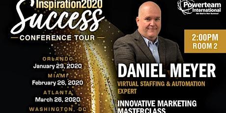 Innovative Marketing using Virtual Staffing & Automation tickets