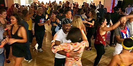 Cuban Salsa Party: Live Band, Cuban Food Buffet, Lessons, DJ, & Performance tickets