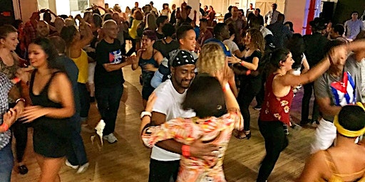 Cuban Salsa Party: Live Band, Cuban Food Buffet, Lessons, DJ, & Performance